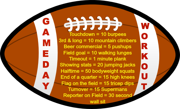Game Day Workout